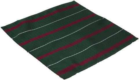 Light Infantry Silk Non Crease Pocket Square (Small Handkerchief)