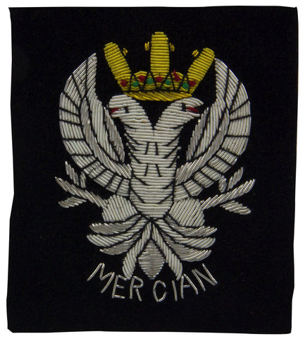 Mercian Regiment Blazer Badge - regimentalshop.com