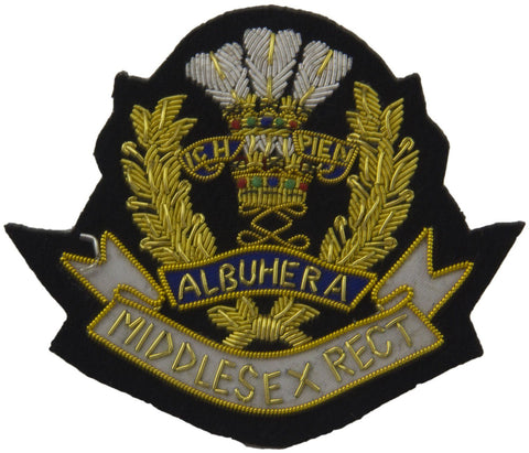 Middlesex Regiment Blazer Badge - regimentalshop.com