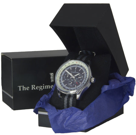 NATO Military Multi Dial Watch (grey) - regimentalshop.com