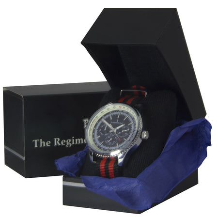 NATO Military Multi Dial Watch (red) - regimentalshop.com