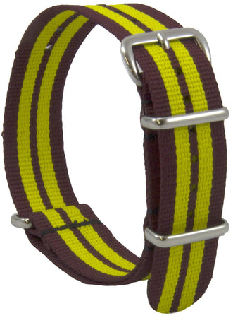 King's Royal Hussars (KRH)  G10 Watch Strap - regimentalshop.com
