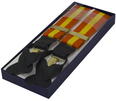 Orange and Yellow Braces - regimentalshop.com