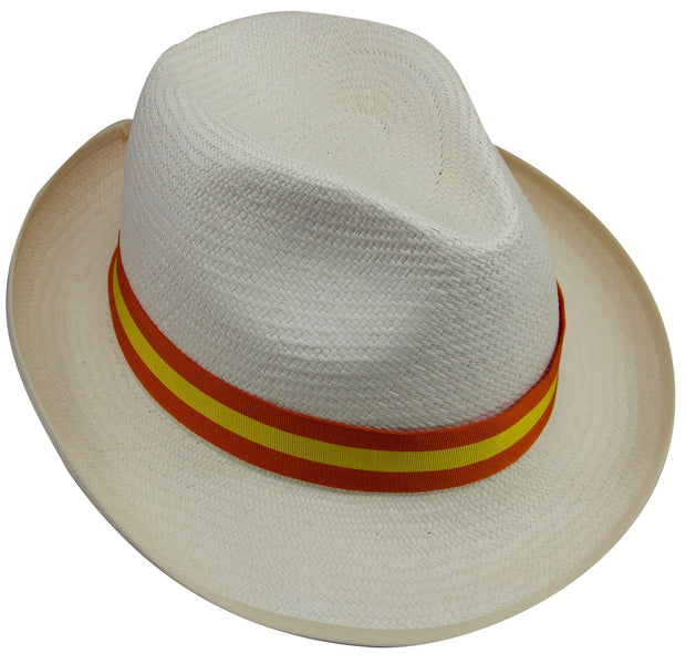 Orange & Yellow Panama Hat - regimentalshop.com