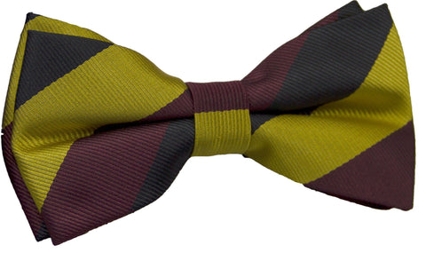 Prince of Wales's Own Regiment of Yorkshire Polyester Pretied Bow Tie - regimentalshop.com