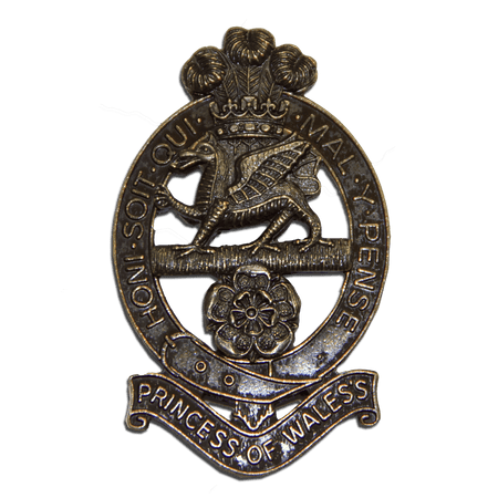 Princess of Wales's Royal Regiment Beret Badge - regimentalshop.com