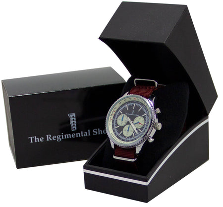 Parachute Regiment Military Chronograph Watch - regimentalshop.com