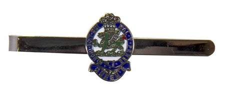 Queen's Regiment Tie Clip/Slide - regimentalshop.com