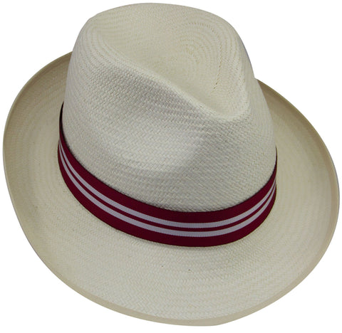 Queen's Royal Lancers Panama Hat - regimentalshop.com