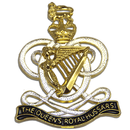 Queen's Royal Hussars Beret Badge - regimentalshop.com