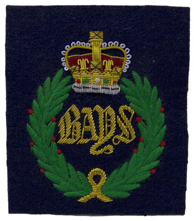 Queen's Bays (2nd Dragoon Guards) Blazer Badge - regimentalshop.com