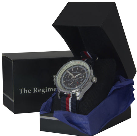 Royal Navy Military Multi Dial Watch - regimentalshop.com