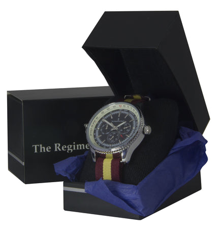 Royal Regiment of Fusiliers Military Multi Dial Watch - regimentalshop.com