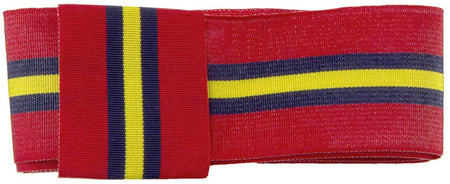 Royal Artillery Regiment Stable Belt Ribbon for any brimmed hat - regimentalshop.com