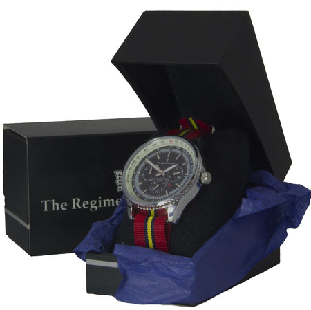 Royal Artillery (Stable Belt) Military Multi Dial Watch - regimentalshop.com