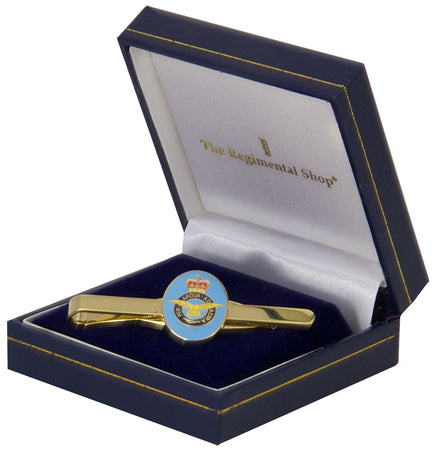 Royal Air Force (RAF) Gilt Enamel Tie Clip - regimentalshop.com