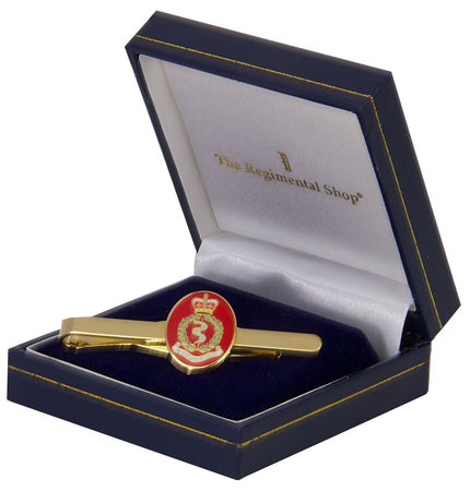 Royal Army Medical Corps (RAMC) Gilt Enamel Tie Clip - regimentalshop.com