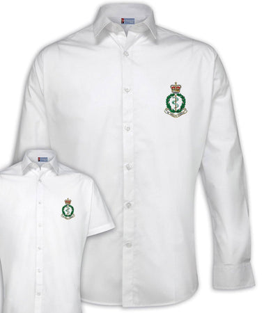RAMC Regimental Poplin Shirt - Short or Long Sleeves