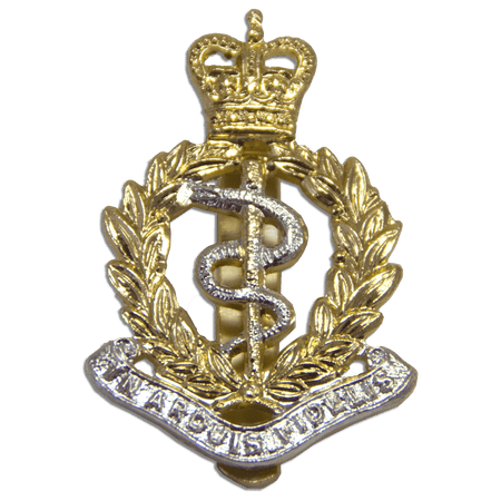 Royal Army Medical Corps Beret Badge - regimentalshop.com