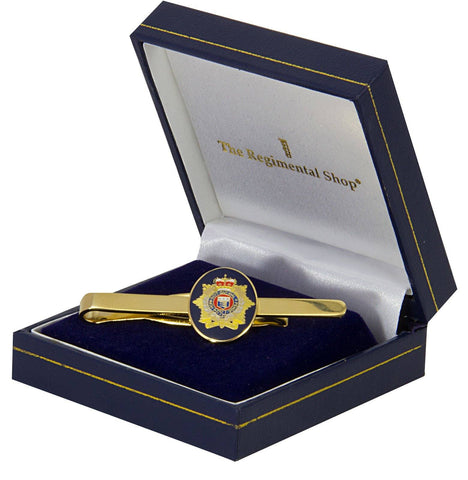 Royal Logistic Corps (RLC) Gilt Enamel Tie Clip