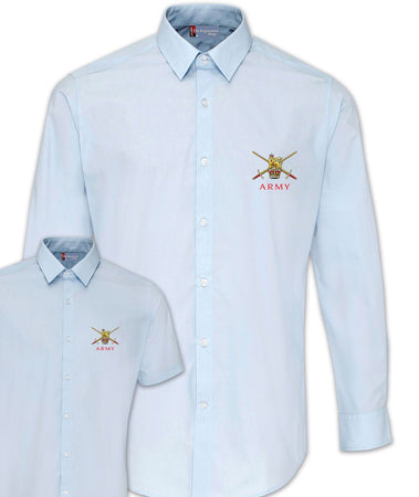 Regular Army Poplin Shirt - Short or Long Sleeves - regimentalshop.com