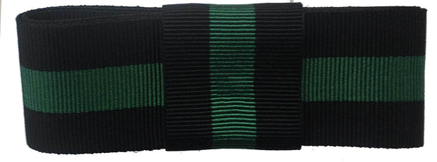 Rifle Brigade Ribbon for any brimmed hat - regimentalshop.com