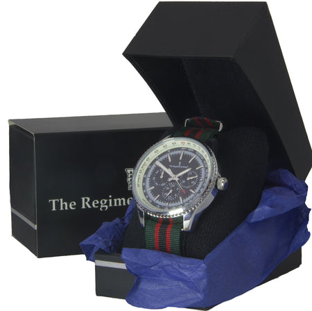 The Rifles Military Multi Dial Watch - regimentalshop.com
