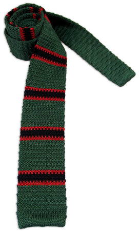 The Rifles Knitted Silk Tie - regimentalshop.com