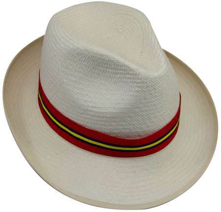 "Royal Artillery ""Stable Belt"" Panama Hat - regimentalshop.com"