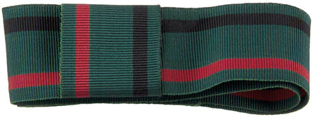 Royal Green Jackets Regiment Ribbon for any brimmed hat