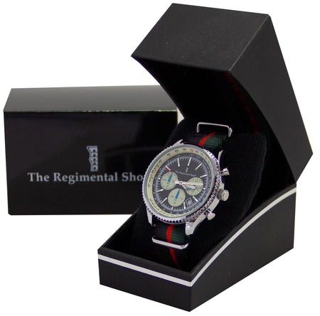 Royal Gurkha Rifles Military Chronograph Watch - regimentalshop.com