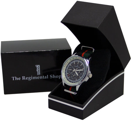 Royal Gurkha Rifles Military Multi Dial Watch - regimentalshop.com