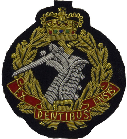 Royal Army Dental Corps Blazer Badge - regimentalshop.com