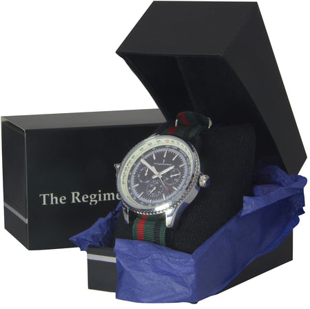 Royal Green Jackets Military Multi Dial Watch - regimentalshop.com