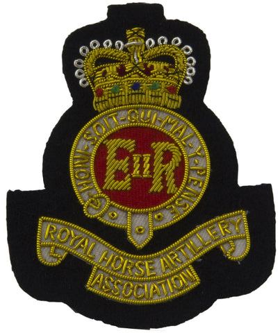 Royal Horse Artillery Association Blazer Badge - regimentalshop.com