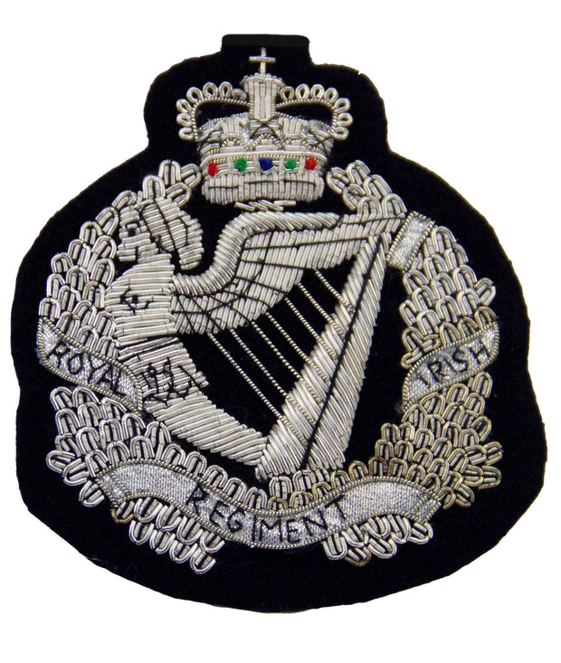 Royal Irish Regiment (Crest) Blazer Badge - regimentalshop.com