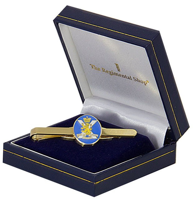 Royal Regiment of Scotland Gilt Enamel Tie Clip - regimentalshop.com
