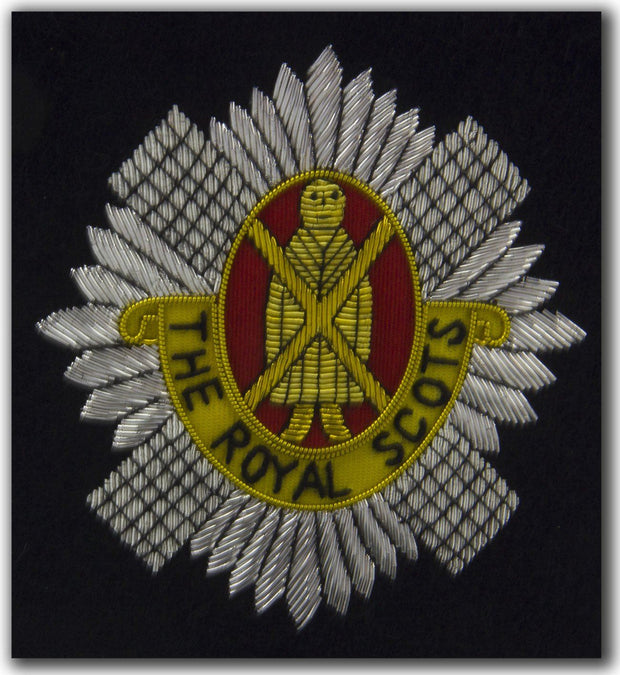 Royal Scots Blazer Badge - regimentalshop.com