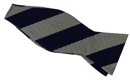 Royal Wessex Yeomanry Silk Non Crease Self Tie Bow Tie - regimentalshop.com