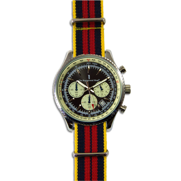 Royal Logistic Corps Military Chronograph Watch - regimentalshop.com