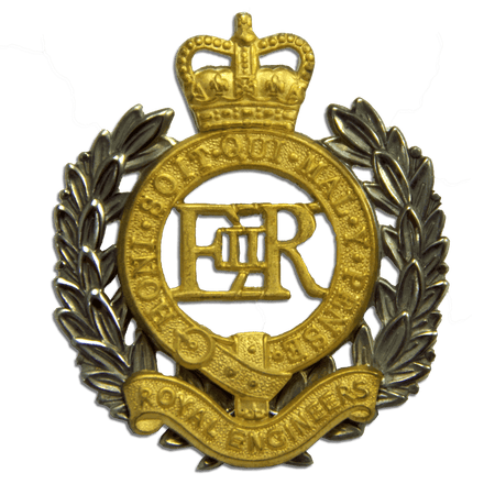 Royal Engineers Beret Badge - regimentalshop.com