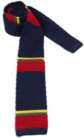 Royal Marines Knitted Silk Tie - regimentalshop.com