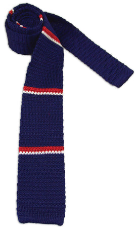 Royal Navy Knitted Silk Tie - regimentalshop.com