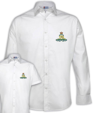 Royal Artillery Regimental Poplin Shirt - Short or Long Sleeves