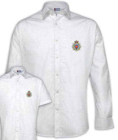 Royal Corps of Transport Regimental Poplin Shirt - Short or Long Sleeves