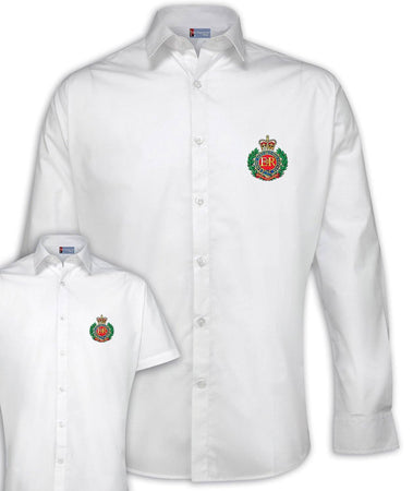 Royal Engineers Regimental Poplin Shirt - Short or Long Sleeves