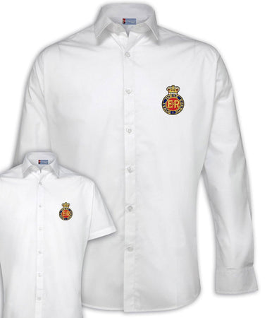 Royal Horse Guards Regimental Poplin Shirt - Short or Long Sleeves