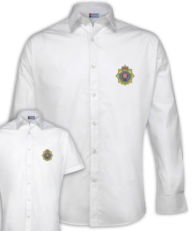 Royal Logistic Corps Regimental Poplin Shirt - Short or Long Sleeves
