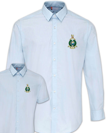 Royal Marines Regimental Poplin Shirt - Short or Long Sleeves