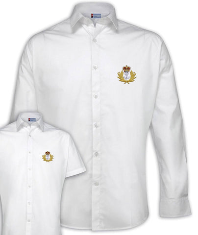 Royal Navy Poplin Shirt - Short or Long Sleeves